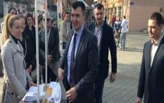 Зоран Ђорђевић, функционер СНС, посетио Врбас
