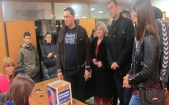 СРС предала листу кандидата за локалне изборе